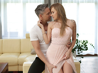 Adorable nicole bexley learns a lesson on how to handle cock - 3 part 5